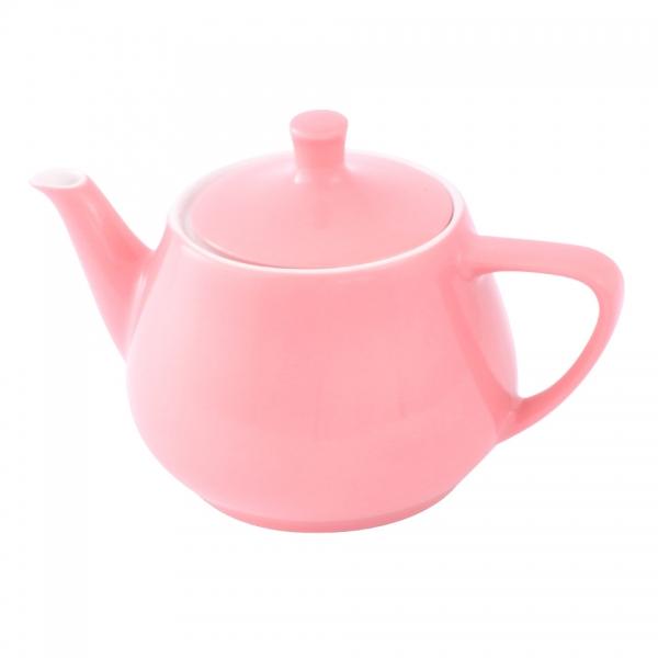 Teekanne 0,85l Pastellrosa Friesland Porzellan