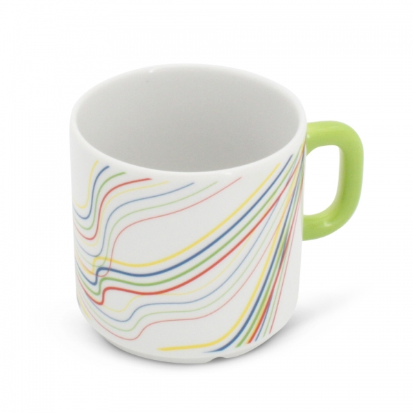 Kaffeetasse Henkel Grün 0,2l Revival Fantasia