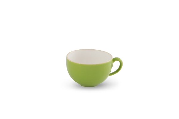Kaffeetasse 0,24l innen Weiß Happymix Limette