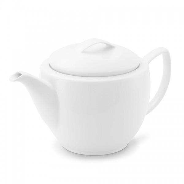 Teekanne 1,25l Venice Weiß Friesland Porzellan