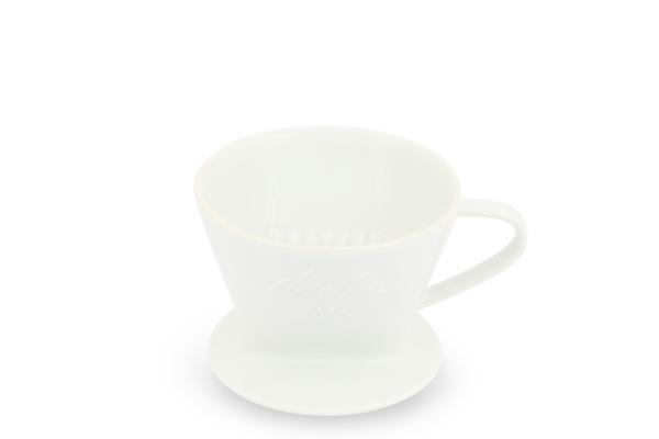 Melitta Kaffeefilter Friesland Porzellan weiß Tassenfilter