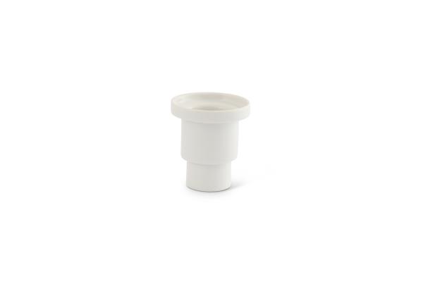 Filter-Adapter Thermoskanne Kaffeefilter Weiß
