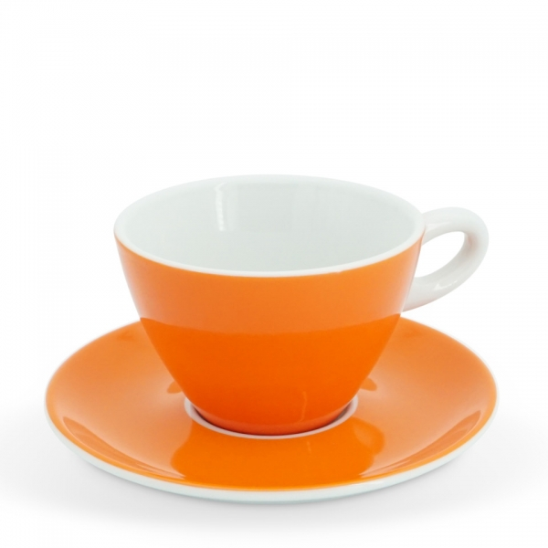 Milchkaffee-Set 2tlg. Alta Leuchtorange