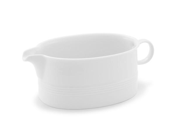 Sauciere Jeverland Weiß Friesland Porzellan