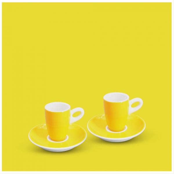 Espresso-Set 4tlg. Alta Gelb