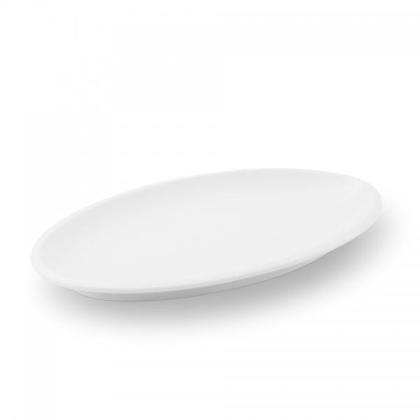 Platte 26cm Ecco Weiß