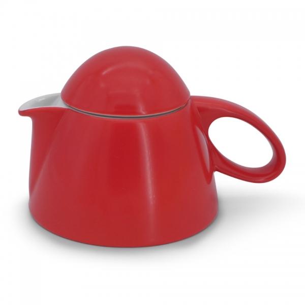 Teekanne, 0,85l Alta Feuerrot Walküre Porzellan