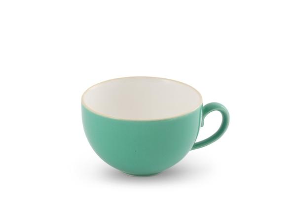 Kaffeetasse Obere Trendmix Jade-Grün Friesland Porzellan