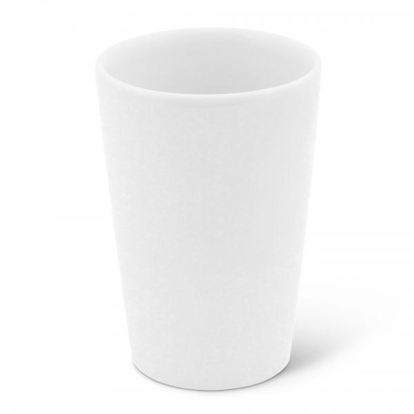 Milchbecher, 0,25l Classic Weiß