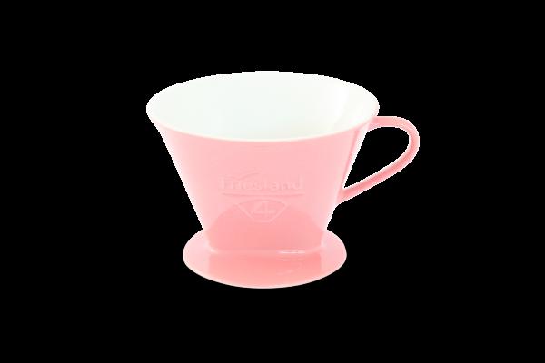 Porzellan Kaffeefilter Gr. 4 Pastellrosa