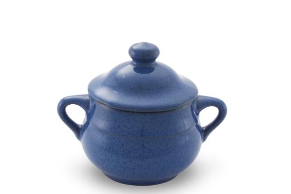 Zuckerdose Ammerland Blue Friesland Porzellan