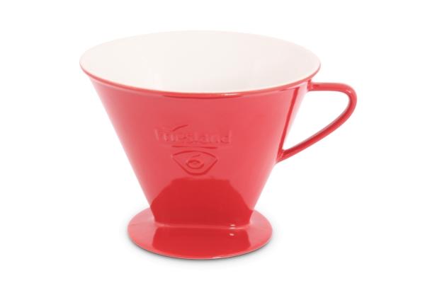 Melitta Kaffeefilter Rot Friesland Porzellan 1x6