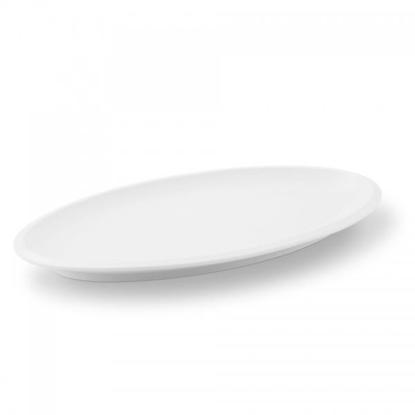 Platte 33cm Ecco Weiß