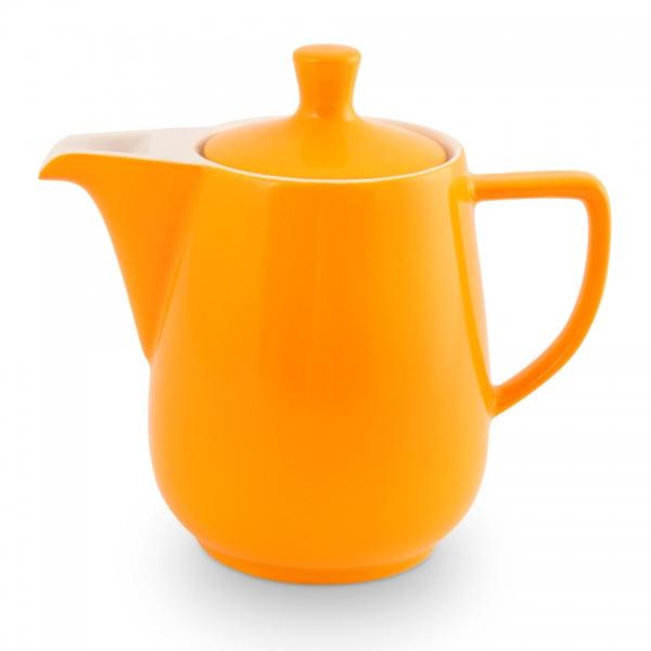 Friesland Porzellan Kaffeekanne 0,6l Safrangelb