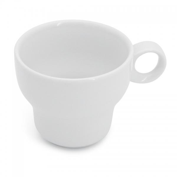 Café au lait Tasse, 0,38l Modern Classic Weiß