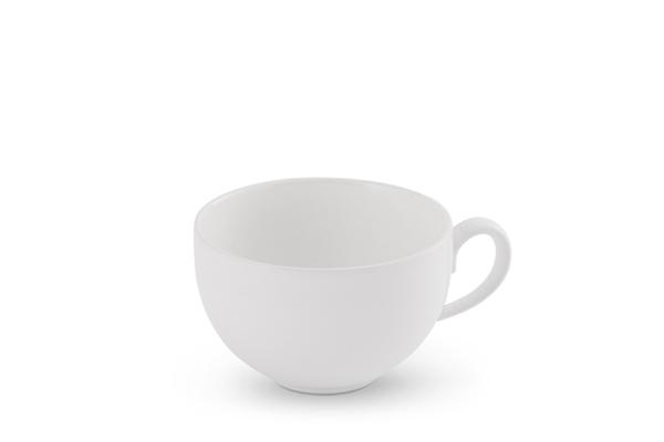 Kaffee-Obertasse Happymix Weiß Friesland Porzellan