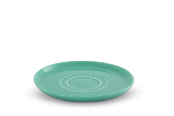 Untertasse Trendmix Jade-Grün Friesland Porzellan