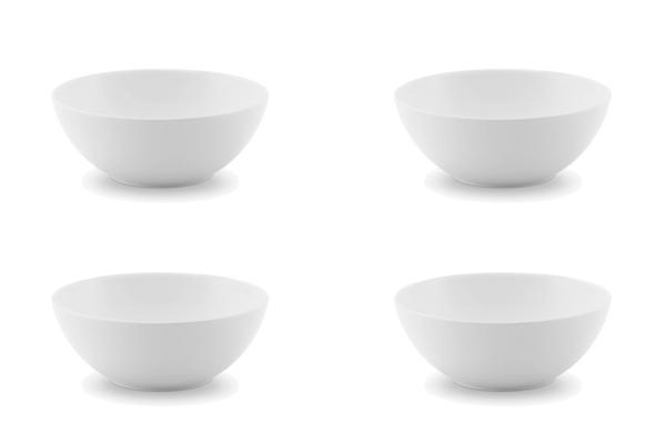 4er-Set Dessertschale Ecco Weiß