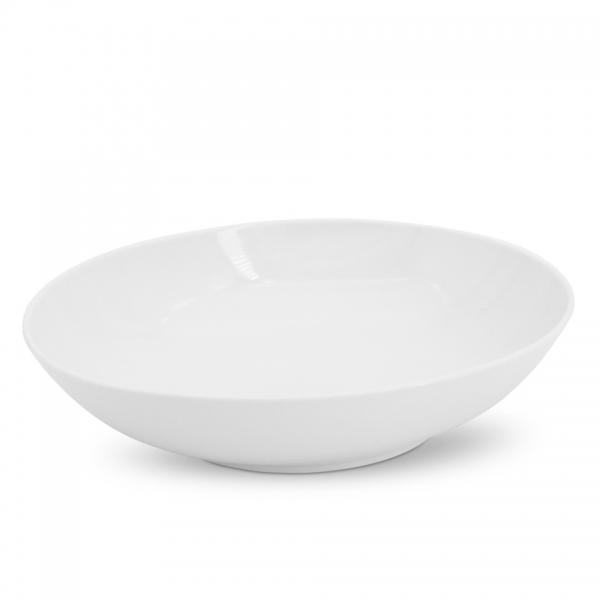 Schale, oval, 28cm Alta Weiß