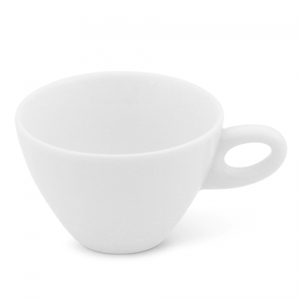 Caffè latte Tasse, 0,25l Alta Weiß