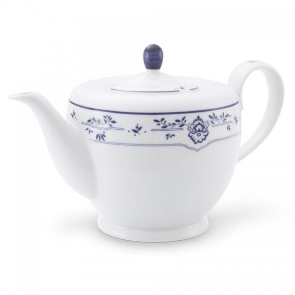Teekanne 1,25l Atlantis Friesisch Blau Friesland Porzellan