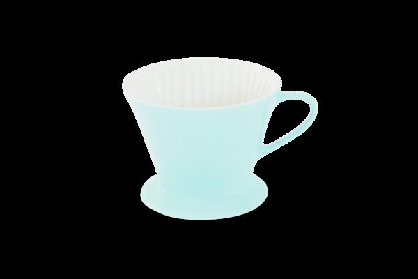 Porzellan Kaffeefilter Gr. 2 Pastellblau