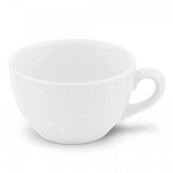 Cappuccinotasse, 0,18l Classic Weiß