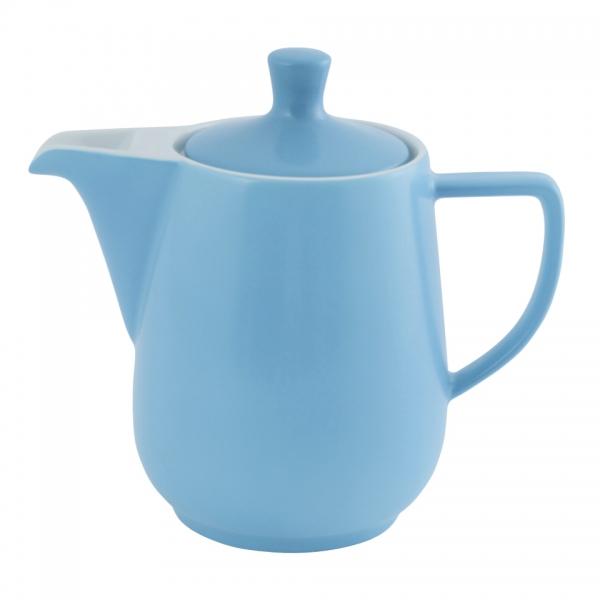 Kaffeekanne 0,6l Azurblau Friesland Porzellan