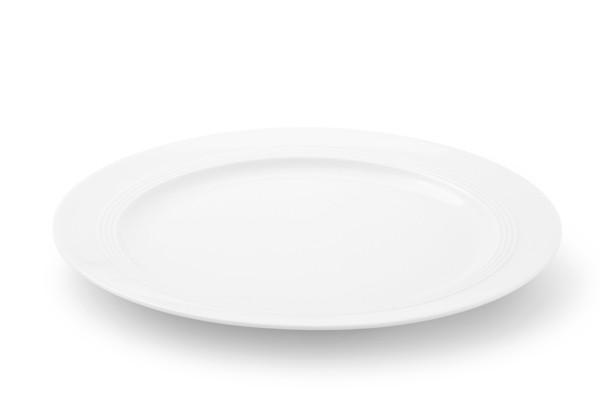 Speiseteller Jeverland Weiß Friesland Porzellan
