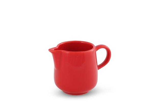 Milchkännchen Happymix Rot Friesland Porzellan