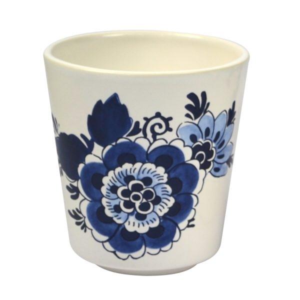 Becher 0,3l Delfter Blau Blume Royal Goedewaagen
