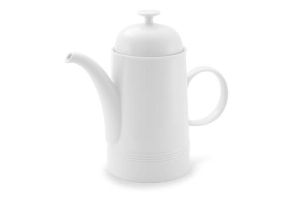 Kaffeekanne Friesland Porzellan Jeverland Weiß
