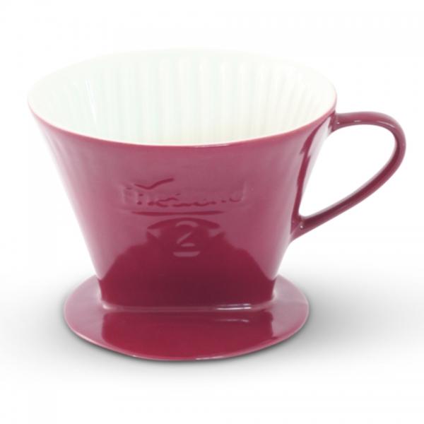 Friesland Kaffeefilter Größe 2 Bordeaux