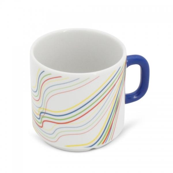 Kaffeetasse Henkel Blau 0,2l Revival Fantasia