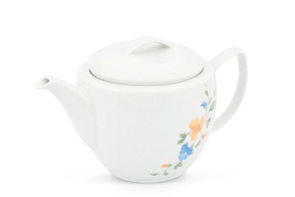 Teekanne Blumendekor Venice Clematis Friesland Porzellan