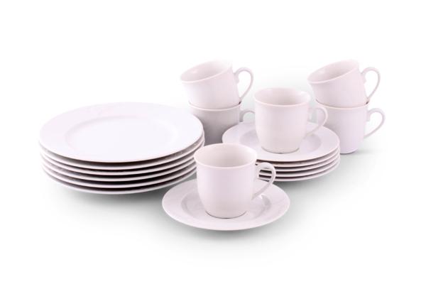 Kaffee-Set Bel Air weiß Friesland Porzellan