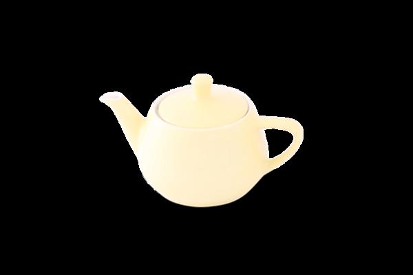 Teekanne 0,35l Haushaltskannen Pastellgelb - Utah Teapot
