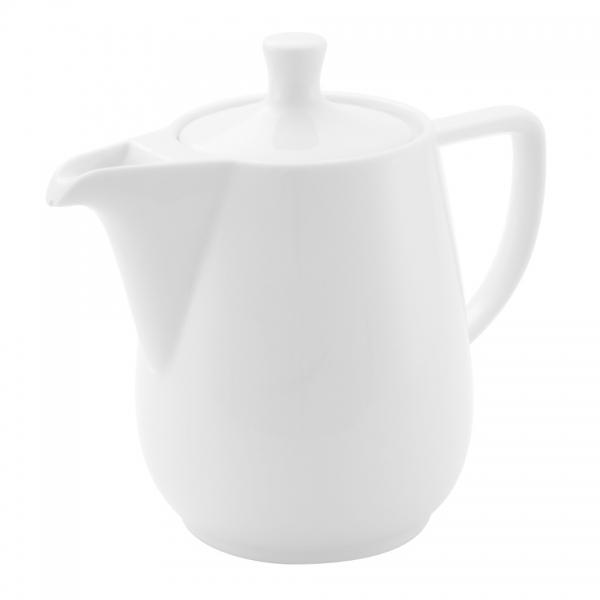 Friesland Porzellan Haushaltskaffeekanne 0,9l Weiß