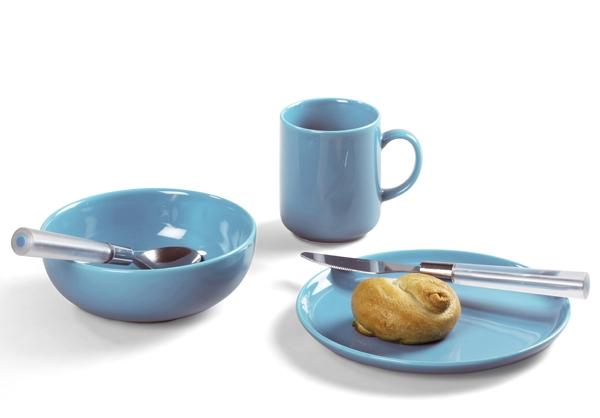 Happymix Azurblau Frühstücks-Set von Friesland