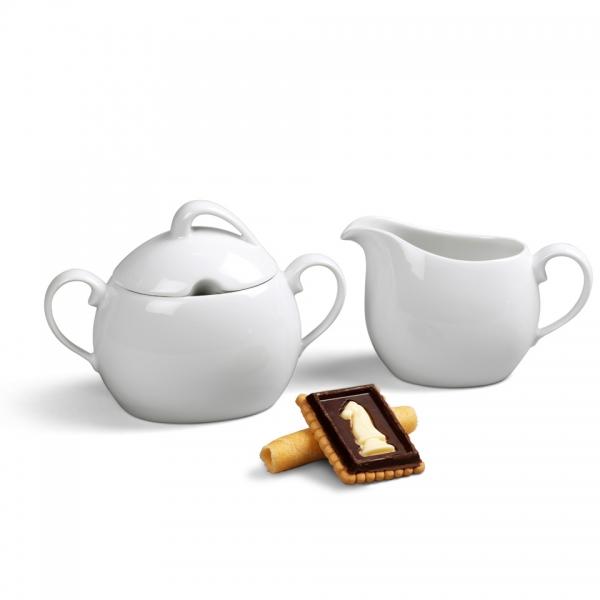 Ergänzungs-Set Kaffee 2tlg La Belle Weiß
