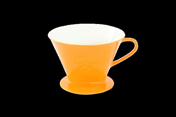 Porzellan Kaffeefilter Gr. 4 Safrangelb