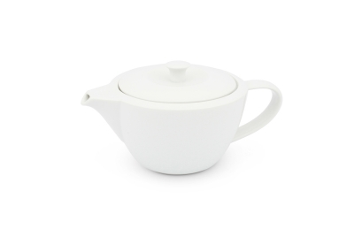 Friesland Teekanne 0,8l Horizont Weiß Porzellan