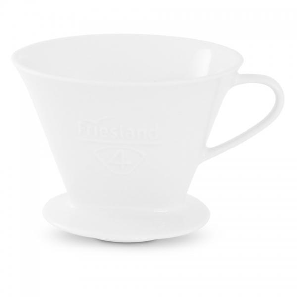 Friesland Filter Größe 4 Porzellan Weiß