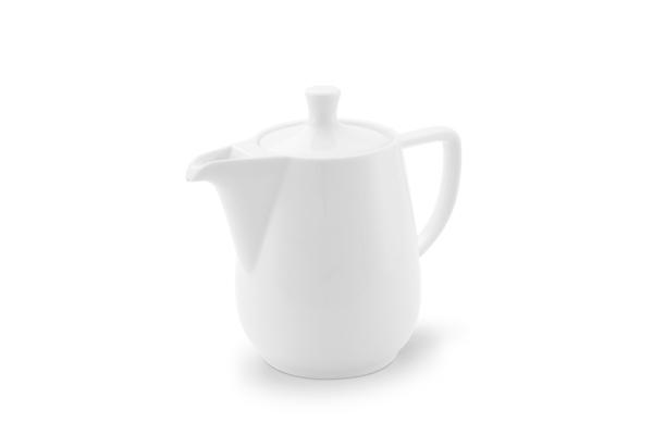 Kaffeekanne 0,9l Weiß