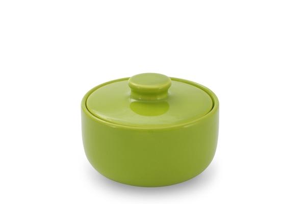 Zuckerdose Happymix Limette Grün Friesland Porzellan