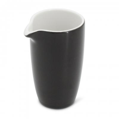 Milchkännchen, 0,15l Alta Schwarz Walküre Porzellan