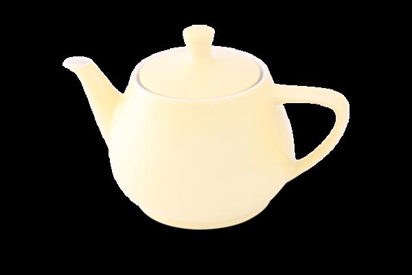 Teekanne 1,4l Haushaltskannen Pastellgelb - Utah Teapot