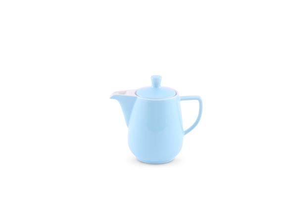 Kaffeekanne Pastellblau von Friesland Porzellan