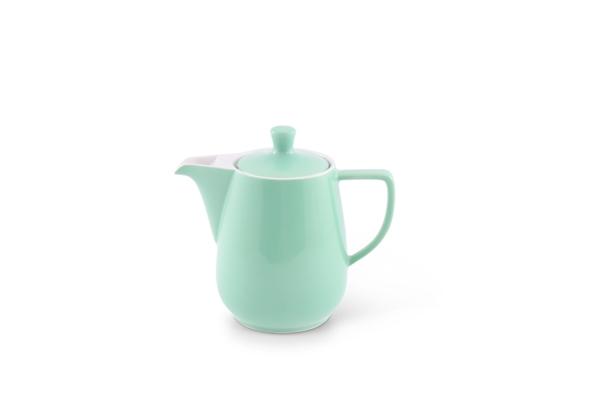 Kaffeekanne Pastellgrün von Friesland Porzellan