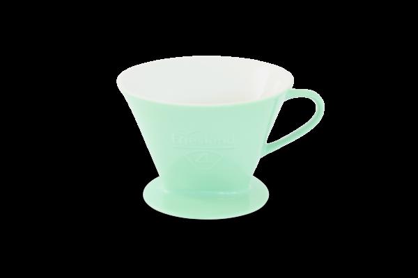 Porzellan Kaffeefilter Gr. 4 Pastellgrün